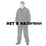 Костюм ТУРИСТ 2 куртка/брюки цвет:, камуфляж Питон черный, ткань : Твил Пич