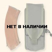 18481020 Подсумок под 1 магазин АК олива с эластичным жгутом 3581