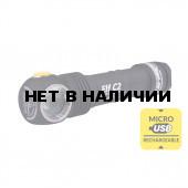 Фонарь Armytek Elf C2 XP-L USB Теплый(Серебро)