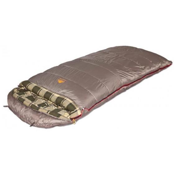 Мешок спальный CANADA Plus одеяло, серый, левый