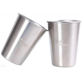 Стакан из нержавеющей стали, ANTARCTI CUP SILVER, 350 мл, 2 шт. SILVER, ANTARCTI CUP SILVER