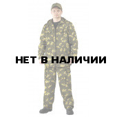 Костюм ТУРИСТ 2 куртка/брюки цвет:, камуфляж Граница хаки, ткань : Твил Пич