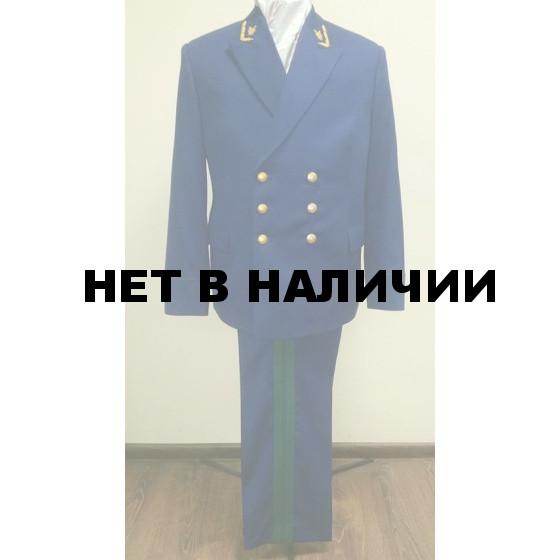Китель ГСЮ Прокуратура синий индивидуальный пошив