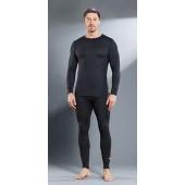 Комплект мужского термобелья Guahoo: рубашка + кальсоны (21-0400 S-BK / 21-0400 P-BK)