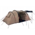 Палатка Tauris 4 коричневый, 440х220/240х180/170 см, 11499