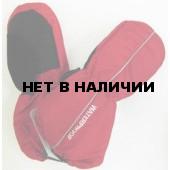 Варежки детские 3536А (красные)