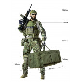 Тактический баул-рюкзак СН-2 олива 125л