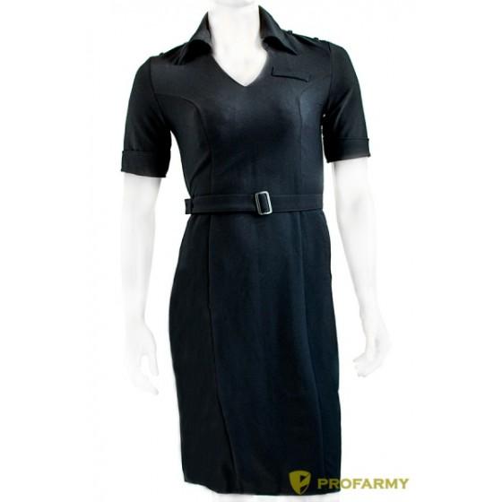 Платье полиции поливискоза короткий рукав