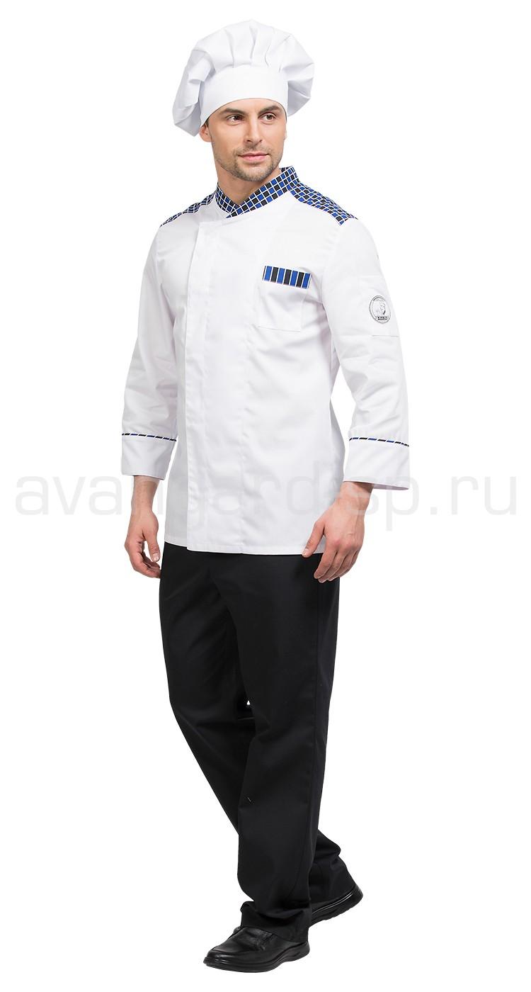 399a94ff9ffef Костюм шеф-повара Марио цвет бел.-черный-цв. клетка, производитель ...