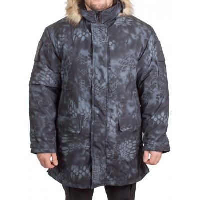 378e68efbd6 Куртка зимняя МПА-40 (аляска) (ткань мембрана) питон ночь недорого ...