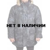 Куртка зимняя МПА-40 (аляска) (ткань мембрана) питон ночь