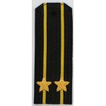 Погоны ВМФ вышитые Капитан 2 ранга повседневные