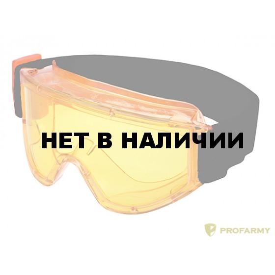 Очки Премиум герметичные 223408 желтые