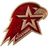 Нагрудный знак Юнармия металл