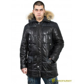 Куртка кожаная МК/17-9К Bornish Black