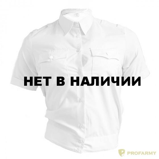 86b0ae6a8db Рубашка Полиция женская белая с коротким рукавом