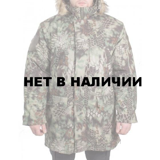 Куртка зимняя МПА-40 (аляска) (ткань мембрана) питон лес