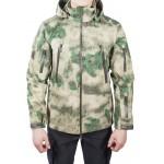 Куртка с капюшоном МПА-26 (ткань софтшелл), камуфляж мох