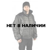 Куртка демисезонная КОНТРОЛ цвет: черный, ткань : оксфорд