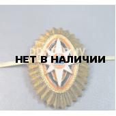 Кокарда МЧС малая золотая ФМ-43
