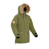 Мужская пуховая куртка-парка Баск TAIMYR хаки светлый