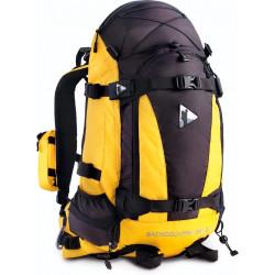 Рюкзак BASK BACK COUNTRY 35 V2 желтый/черный