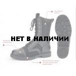 Ботинки с высокими берцами уставные облегченные ВС РФ