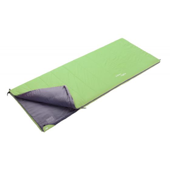 Спальный мешок BASK SUPER LIGHT -4 зеленый свтл