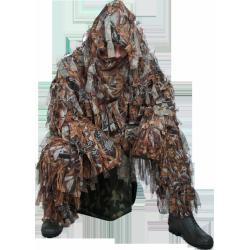 Костюм маскировочный Леший 100% полиэстер, двойная сетка., камуфляж (лес)