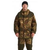 Костюм ГОРКА-ГОРЕЦ куртка/брюки, цвет:, камуфляж Питон зеленый/т.хаки, ткань : Грета