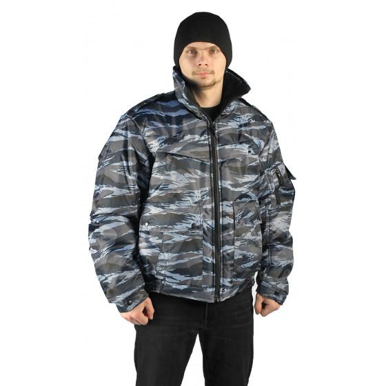 Куртка демисезонная КОНТРОЛ цвет:, камуфляж Вихрь серый, ткань : Оксфорд