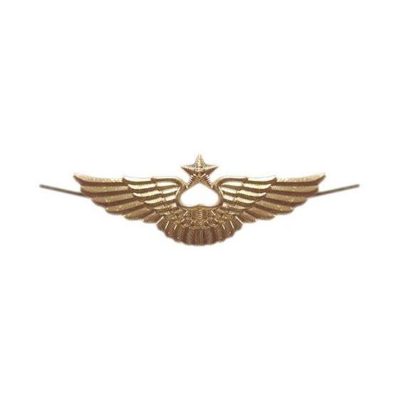 Эмблема ВВС на тулью нового образца металл