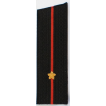 Погоны Береговые части ВМФ вышитые Младший лейтенант повседневные со скосом на китель