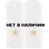 Погоны ПС ФСБ генерал-майор на белую рубашку повседневные
