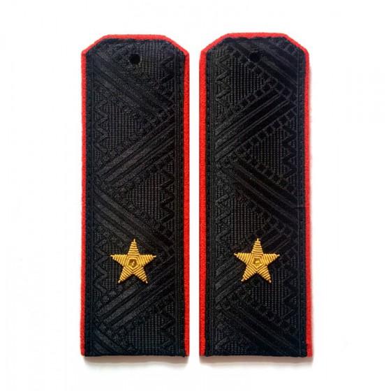 Погоны Береговые части ВМФ генерал-майор повседневные трапеция