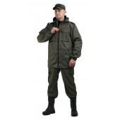 Костюм ТУРИСТ 2 куртка/брюки цвет:, камуфляж Хаки, ткань : Твил Пич