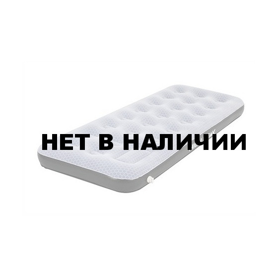 Матраc надувной Air bed Single Comfort Plus Oversize 195х75х20 см, серый/черный, 40042