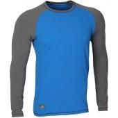 Футболка L/S Africa мод.2 сине-серая