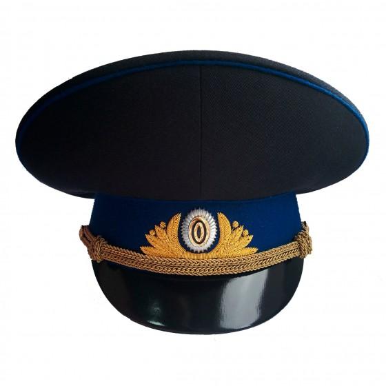 Фуражка генерал ФСБ (ФСО) повседневная модельная золото