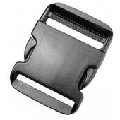 Пряжка фастекс 50 мм 1-15433/1-05431 (2 части) одна регулировка черный Duraflex