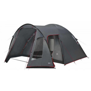 Палатка Tessin 4 темно-серый/красный, 370х240х170 см, 10222