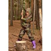 Костюм влаговетрозащитный детский проклеенный-S лес