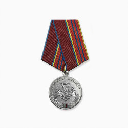 Медаль Росгвардия За отличие в службе 2 степени