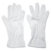 Перчатки парадные синтетические белые