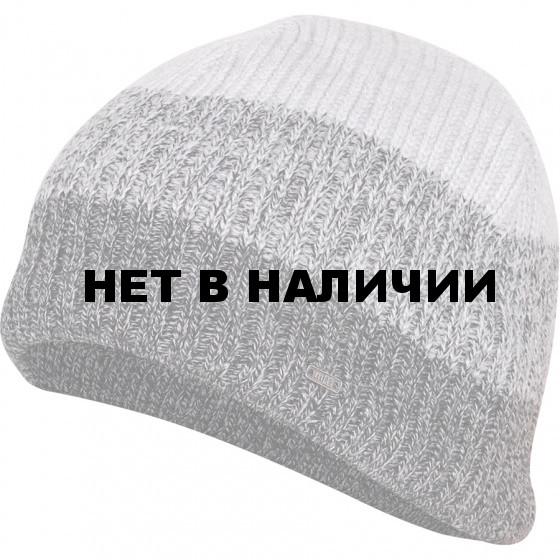 Шапка полушерстяная marhatter MMH 7733/2 чёрно-серый мулине