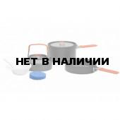 Набор портативной посуды FEAST 2 из анодированного алюминия на 2-3 персоны, 1401102