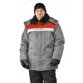 Куртка зимняя УРАЛ цвет: светло-серый
