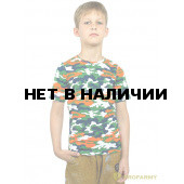 Футболка детская Orange Camo короткий рукав