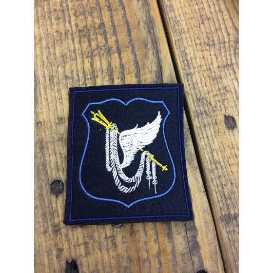 Нашивка на рукав с липучкой Командование ВВС 300 приказ синий голубой кант вышивка шелк