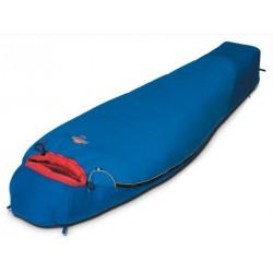 Мешок спальный TIBET синий, левый